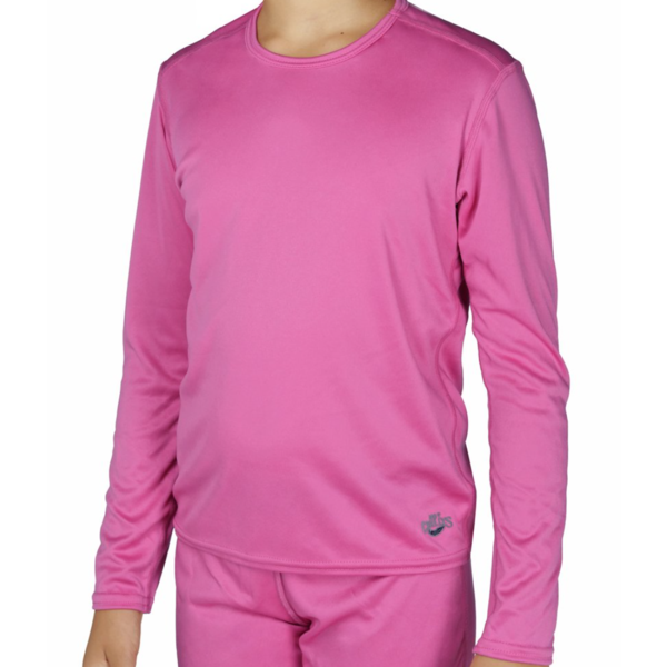 YOUTH PEACHSKINS TURTLENECK - COSMO PINK