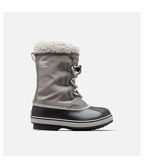 SOREL CHILDRENS YOOT PAC NYLON BOOT - QUARRY