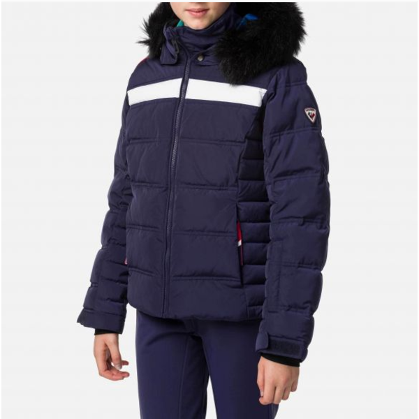 JUNIOR GIRLS HIVER POLYDOWN JACKET - NOCTURNE
