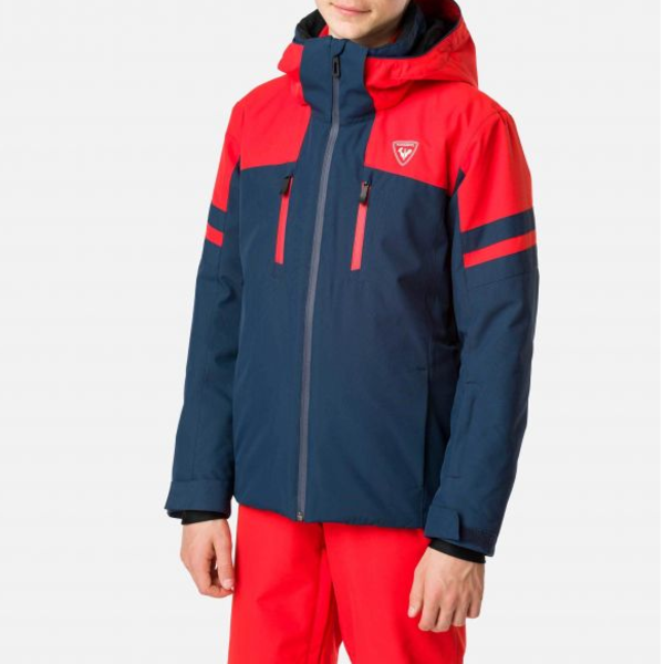 JUNIOR BOYS CONTROLE JACKET - DARK NAVY