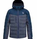 ROSSIGNOL JUNIOR BOYS POLYDOWN JACKET - DENIM - SIZE 12 ONLY