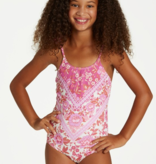 BILLABONG JUNIOR GIRLS TAKE A TRIP ONE PIECE - SIZE 10 ONLY