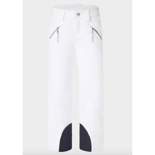 JUNIOR GIRLS ADINA PANT - WHITE - SIZE 10 ONLY