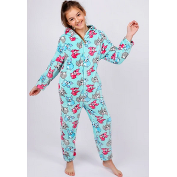 JUNIOR GIRLS FRENCH BULLDOG ONESIE