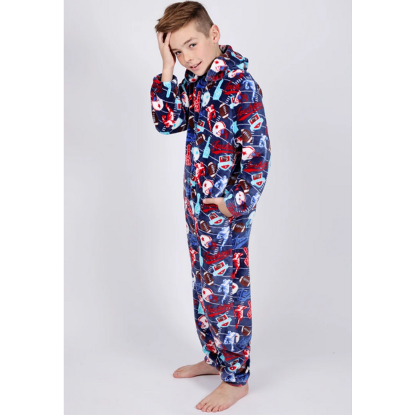 JUNIOR BOYS FOOTBALL ONESIE