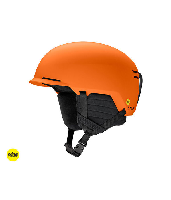 SMITH SCOUT JR HELMET WITH MIPS - HALO ORANGE - SIZE SMALL 48-53CM ONLY