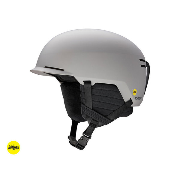 SCOUT JR HELMET WITH MIPS - CLOUD GREY - SIZE SMALL 48-53CM