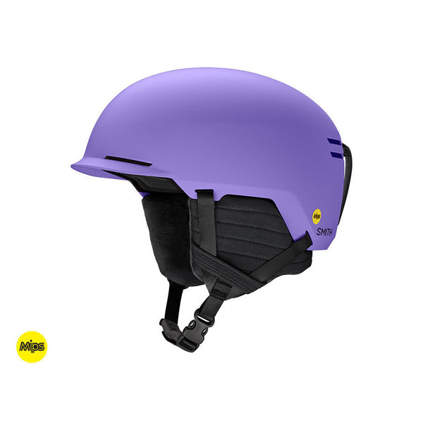SCOUT JR HELMET WITH MIPS - MATTE PURPLE
