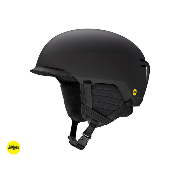 SCOUT JR HELMET WITH MIPS - MATTE BLACK - SIZE SMALL (48-53CM) ONLY