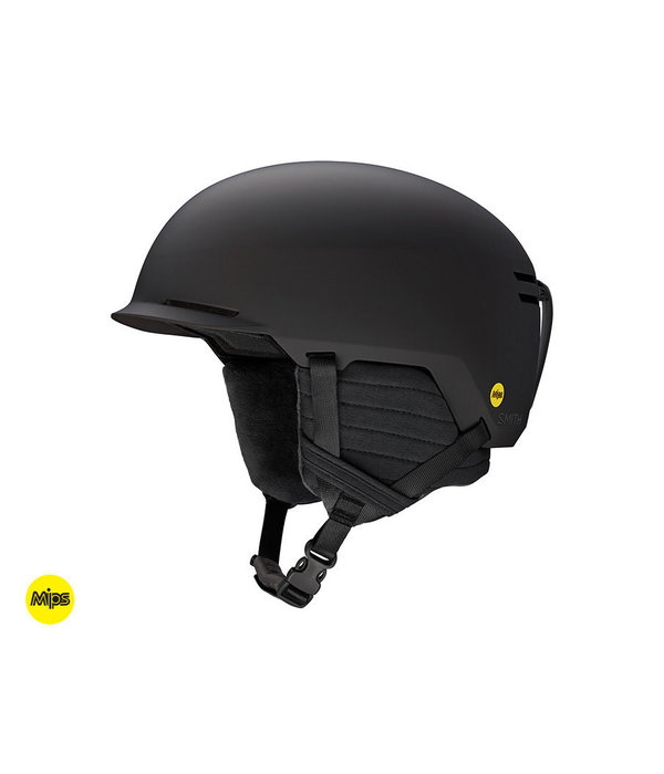 SMITH SCOUT JR HELMET WITH MIPS - MATTE BLACK - SIZE SMALL (48-53CM) ONLY