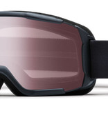 SMITH DAREDEVIL OTG GOGGLE - BLACK WITH IGNITOR MIRROR LENS - SIZE YOUTH MEDIUM