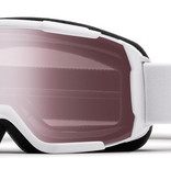 SMITH DAREDEVIL OTG GOGGLE - WHITE WITH IGNITOR MIRROR LENS - SIZE YOUTH MEDIUM