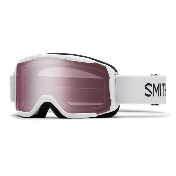 DAREDEVIL OTG GOGGLE - WHITE WITH IGNITOR MIRROR LENS - SIZE YOUTH MEDIUM