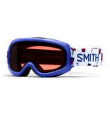 SMITH GAMBLER GOGGLES - BLUE SHOWTIME/RC36