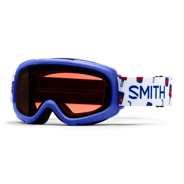 GAMBLER GOGGLES - BLUE SHOWTIME WITH RC36 LENS - SIZE YOUTH SMALL/MEDIUM