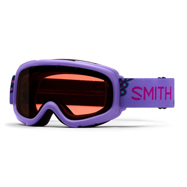 GAMBLER GOGGLES - PURPLE PEACOCKS WITH RC36 LENS - SIZE YOUTH SMALL/MEDIUM