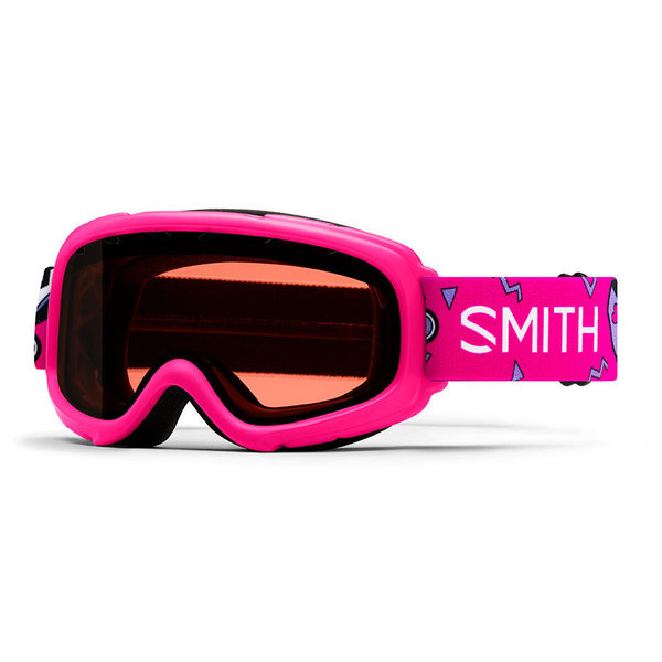 GAMBLER GOGGLES - PINK SKATES WITH RC36 LENS - SIZE YOUTH SMALL/MEDIUM