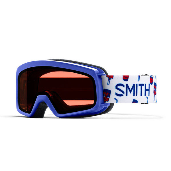 RASCAL GOGGLES - BLUE SHOWTIME WITH RC36 LENS - SIZE YOUTH SMALL