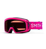 SMITH RASCAL GOGGLES - PINK SKATES WITH RC36 LENS - SIZE YOUTH SMALL