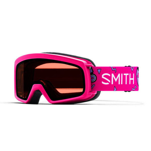 RASCAL GOGGLES - PINK SKATES WITH RC36 LENS - SIZE YOUTH SMALL