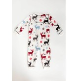 PJ SALVAGE INFANT SNOWED IN ROMPER - 3-6 MONTH ONLY