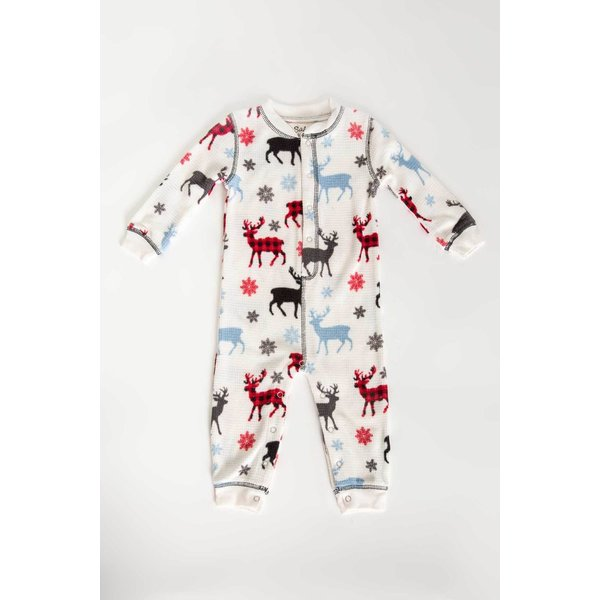INFANT SNOWED IN ROMPER - 3-6 MONTH ONLY
