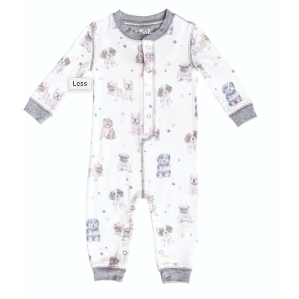INFANT SKI PAWFECTION ROMPER - 3-6 MONTHS ONLY