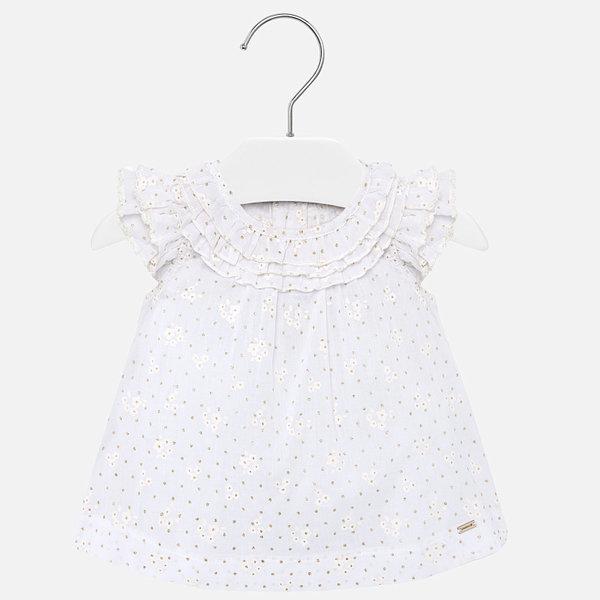 INFANT GIRLS BLOUSE - WHITE