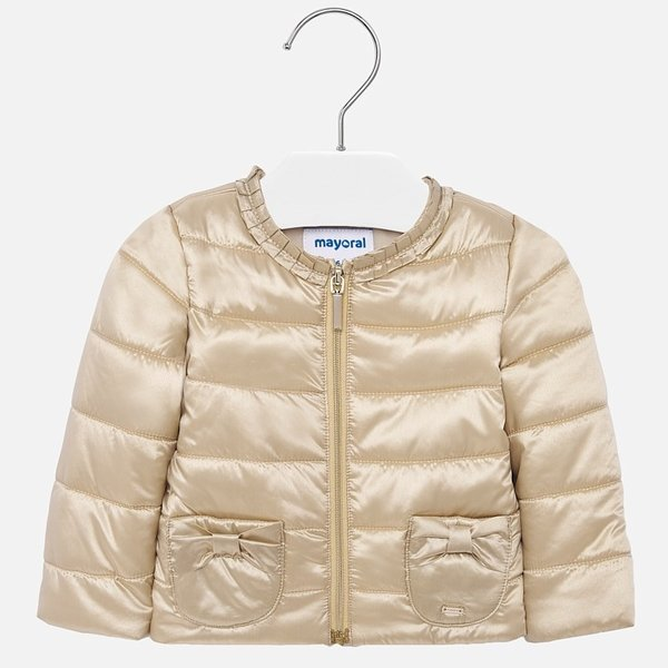 INFANT GIRLS WINDBREAKER JACKET - GOLD