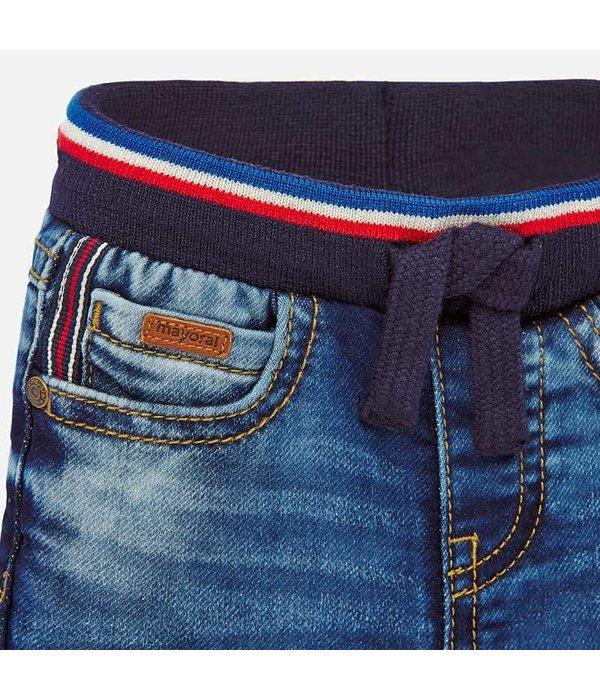 MAYORAL INFANT BOYS LONG JOGGER PANTS - BASIC - SIZE 12 MONTHS ONLY