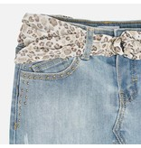 MAYORAL PRESCHOOL GIRLS DENIM SKIRT - BLEACHED - SIZE 3 ONLY