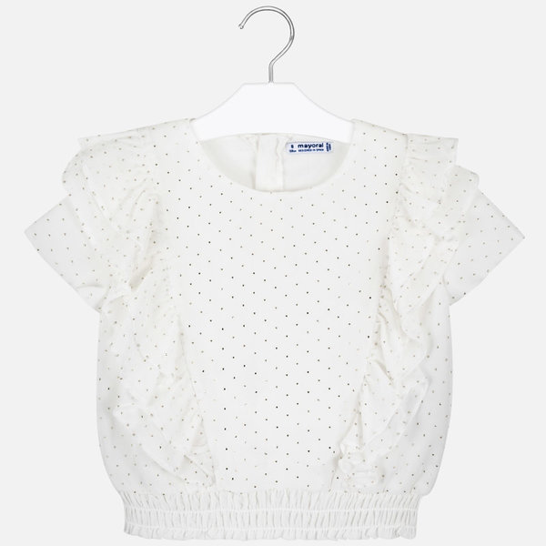 JUNIOR GIRLS BLOUSE - NATURAL