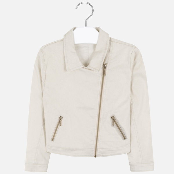 JUNIOR GIRLS JACKET - CHAMPAGNE - SIZE 12 ONLY