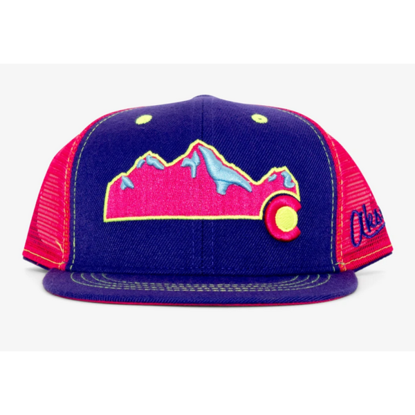 YOUTH COLORADO MOUNTAIN HAT - PINK