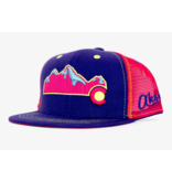 AKSELS YOUTH COLORADO MOUNTAIN HAT - PINK