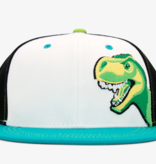 AKSELS YOUTH T-REX TRUCKER HAT - AGES 2-12 YEARS