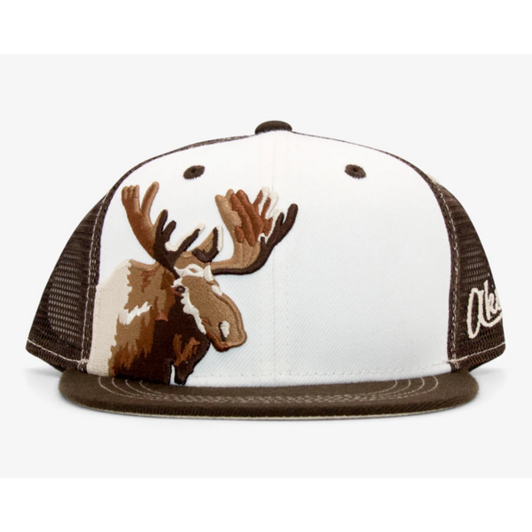 YOUTH MOOSE TRUCKER HAT - AGES 2-12 YEARS