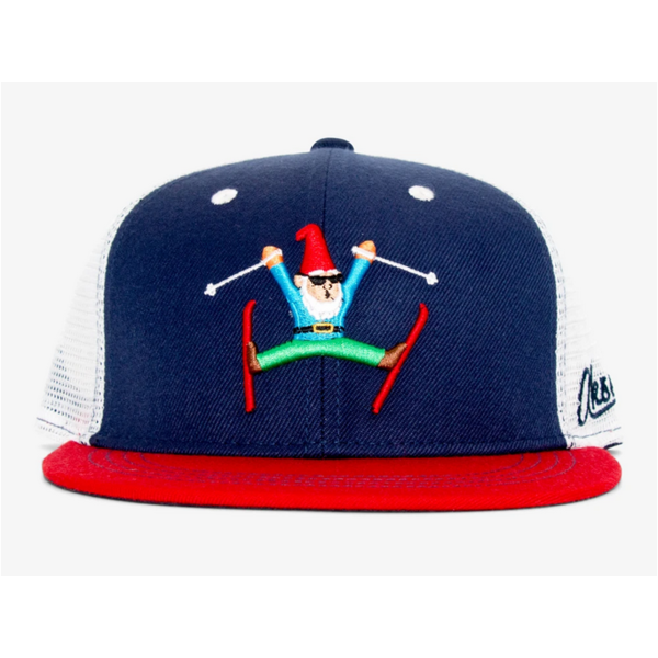 ADULT GNOME SKIER TRUCKER HAT