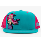 AKSELS YOUTH MERMAID TRUCKER HAT (AGES 2-12)