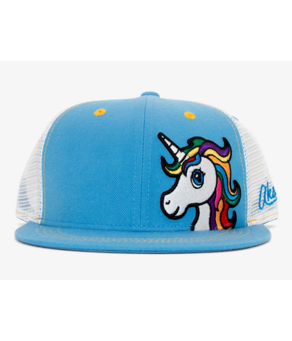 AKSELS YOUTH UNICORN TRUCKER HAT (AGES 2-12)