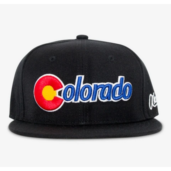 COLORADO STARTER ADULT HAT - BLACK