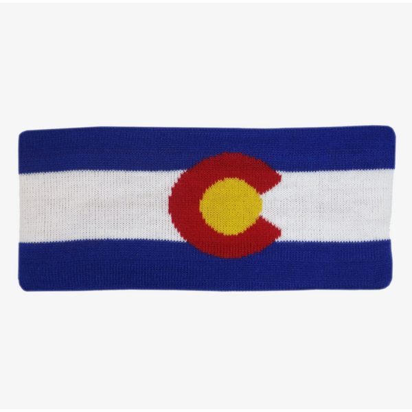 COLORADO FLAG FLEECE HEADBAND