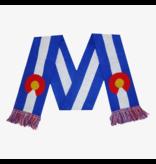 AKSELS ADULT COLORADO FLAG SCARF