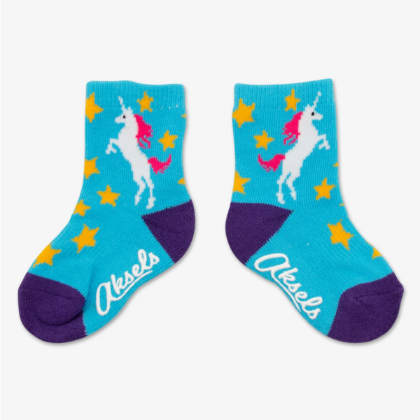 TOTS UNICORN SOCKS - 1 TO 3 YEARS OLD