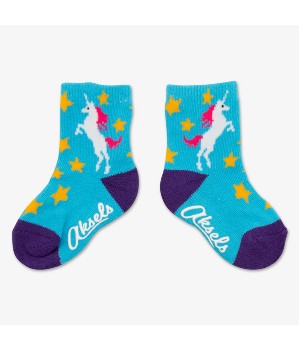 AKSELS TOTS UNICORN SOCKS - 1 TO 3 YEARS OLD