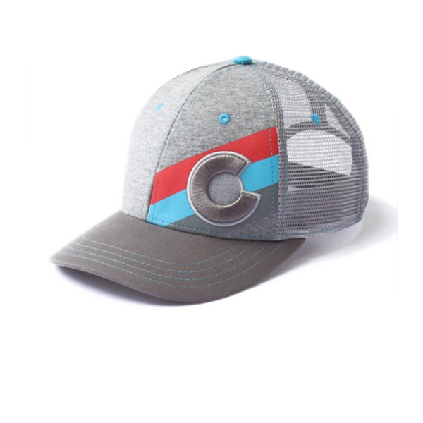 ADULT INCLINE COLORADO TRUCKER HAT - THE GREYHOUND