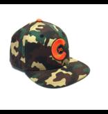 KIDS (3-7Y) CAMO FLAT BILL HAT
