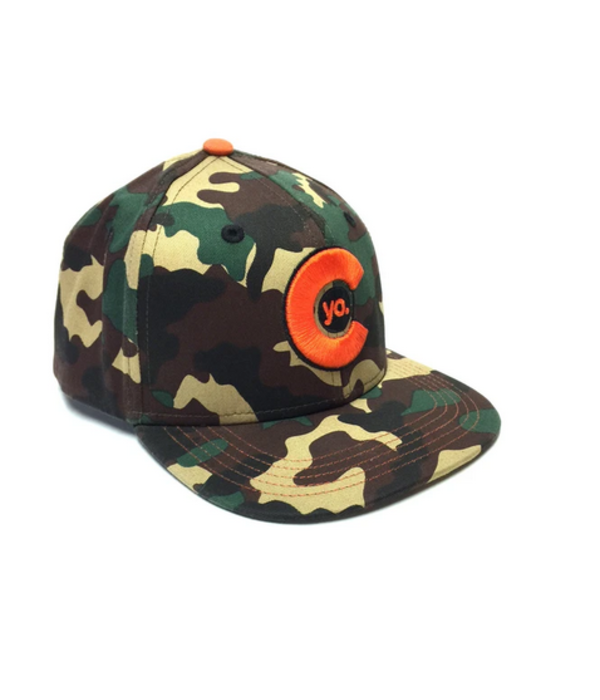 YOCO KIDS (3-7Y) CAMO FLAT BILL HAT