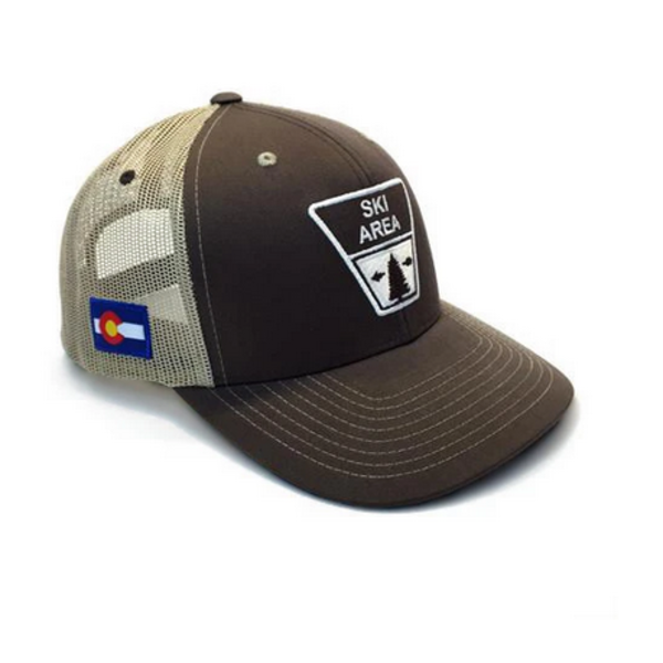 ADULT SKI ZONE TRUCKER HAT