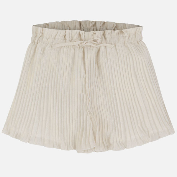 JUNIOR GIRLS PLEATED SKORT - CHAMPAGNE - SIZE 14 ONLY